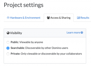 Data Science Project Project Permissions